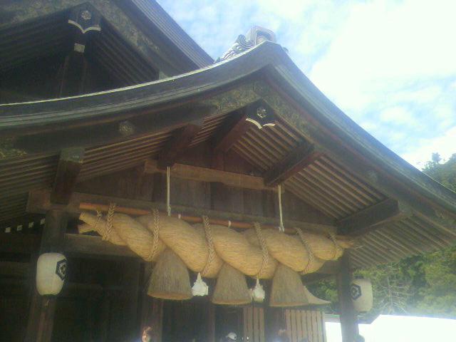 鳥取から島根へ…